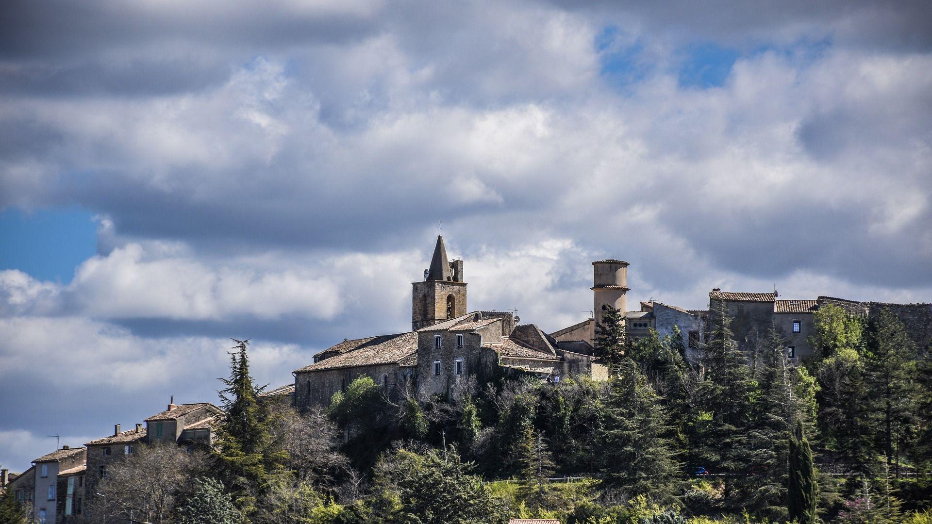 Pierrevert, zona de viñedos